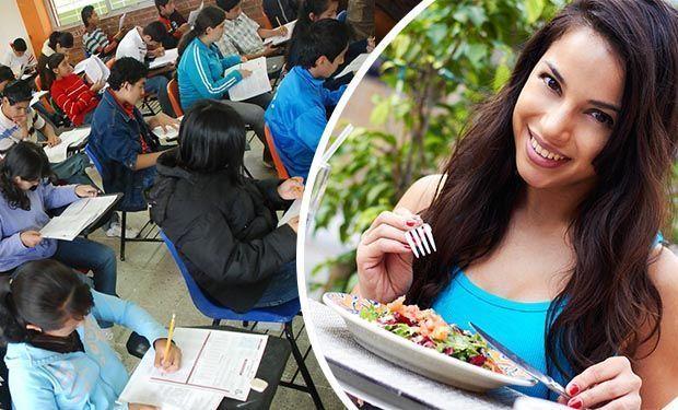 que alimentos comer antes de un examen de admision