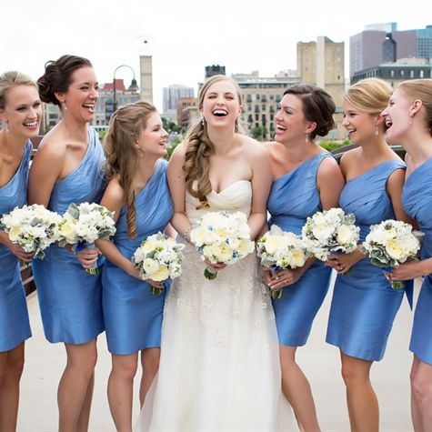 The 25  best Cornflower blue bridesmaid dresses ideas on Pinterest ...