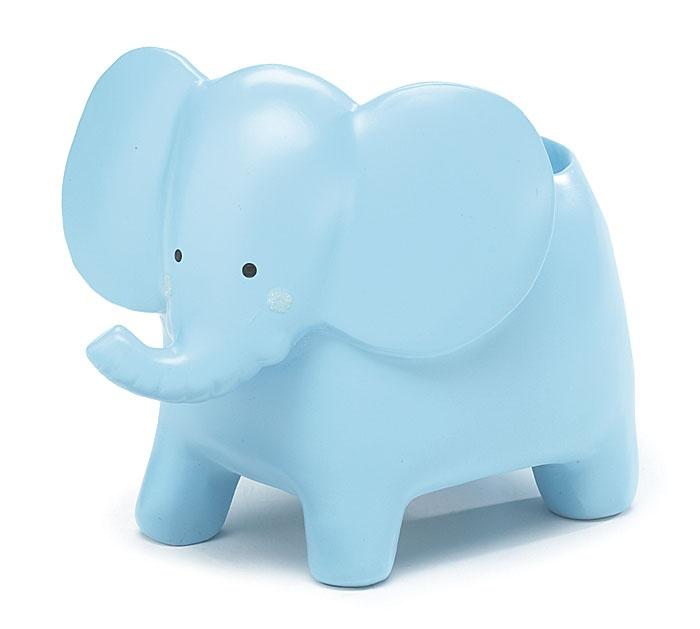 Blue Elephant Baby Planter Blue Baby Shower Ideas