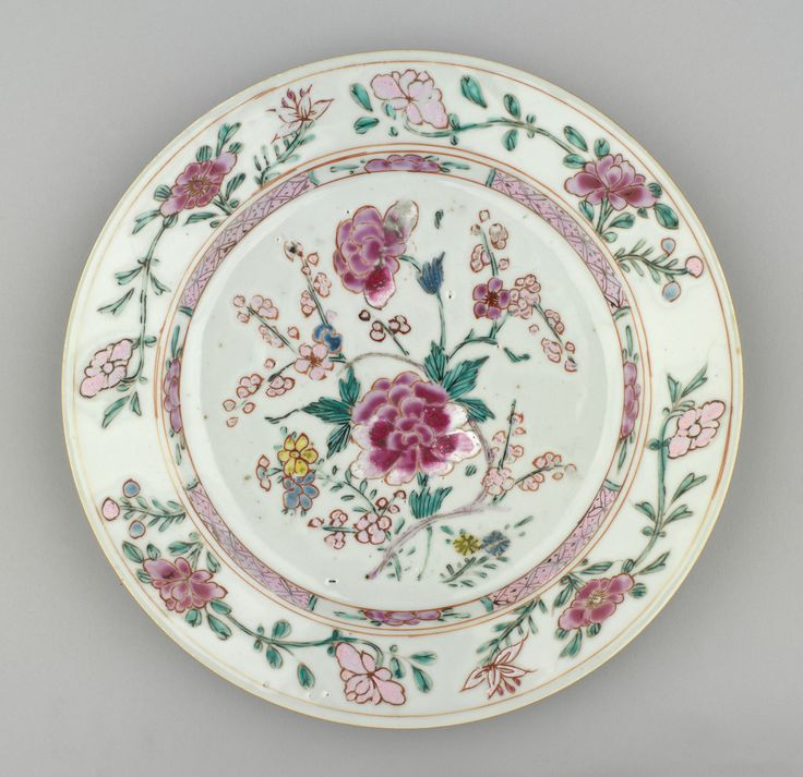 Jingdezhen Porcelain (Jiangxi Province China) \u2014 Plate c.1730-1750 & 664 best Antique Chinese plate images on Pinterest | Blue and white ...