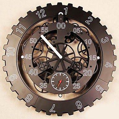 Reloj de Pared Engranajes