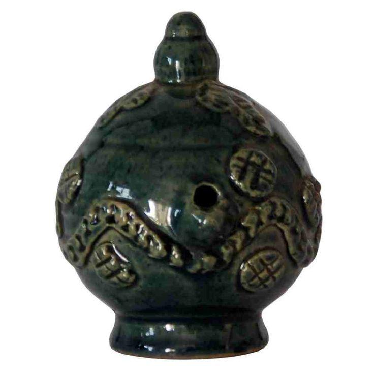 Ceramic Magic Lamp - Green