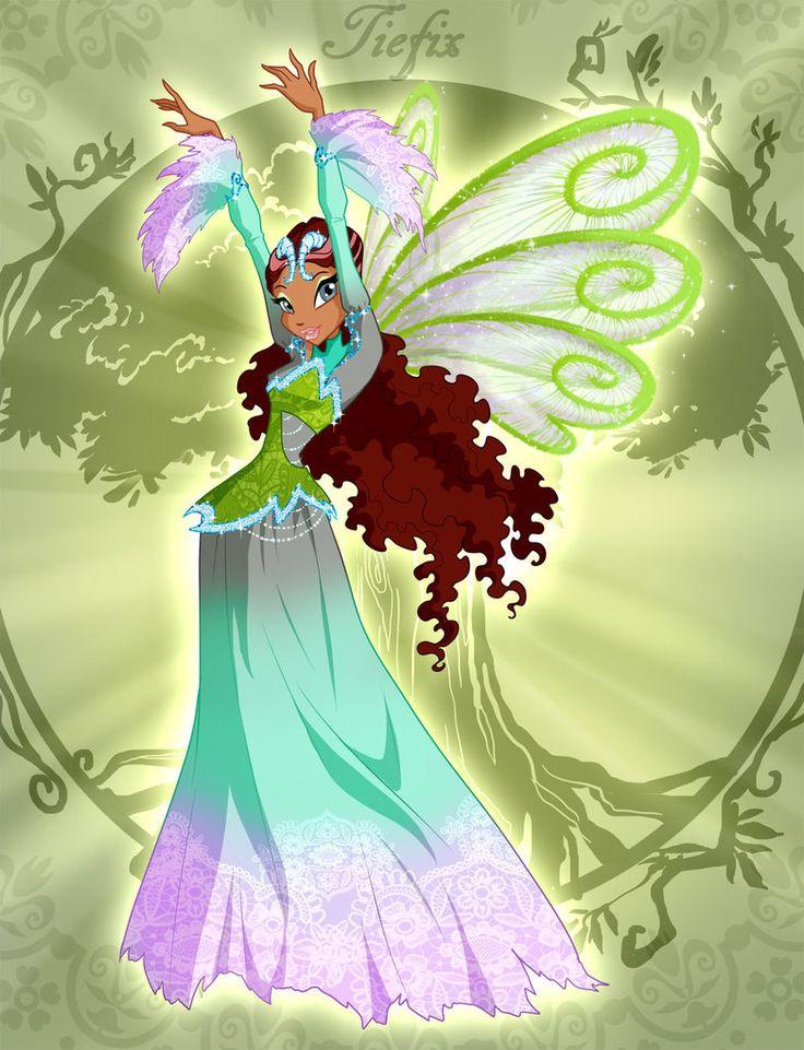 Winx Club Aisha or Layla Tiefix by fantazyme