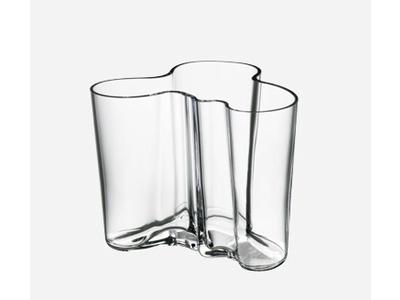 Iittala Aalto vas, 160 cm, glas eller vit