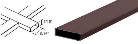 "CRL Bronze 3/16"" x 9/16"" Muntin Bar by CR Laurence by CR Laurence. $4.22. Color: Bronze Depth: 3/16 in (4.76 mm) Length: 12 ft-6 in (3.8 m) Packing Charge: $7.00 for orders of fewer than 20 stock length of i.g. spacers Width: 9/16"" (14.3 mm) Height: 3/16"" (4.8 mm) For Colonial Style Insulating Glass Units Fits Inside of Your I.G. Units CRL Muntin Bars add flair to your insulating glass units when a different look is desired. These muntin bars are cut to size, then assembled with..."