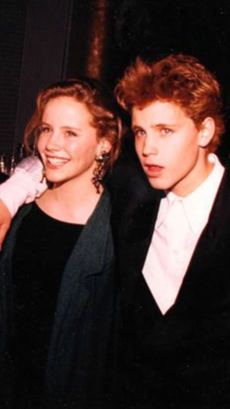 Amanda Peterson and Corey haim RIP