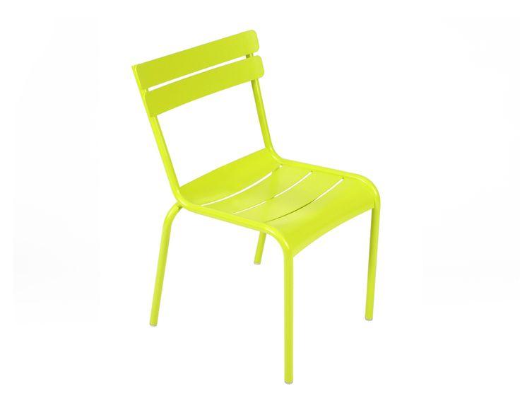 #Mobilier Luxembourg : #Chaise de jardin #Couleur Verveine #Design Frédéric Sofia
