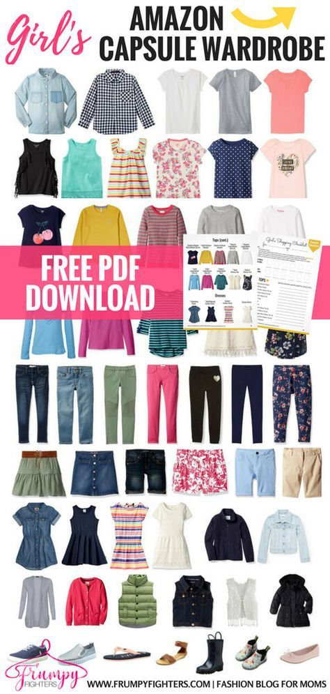 42728972991e Kid s Capsule Wardrobe Plans   Checklists + Step-by-Step on How to ...