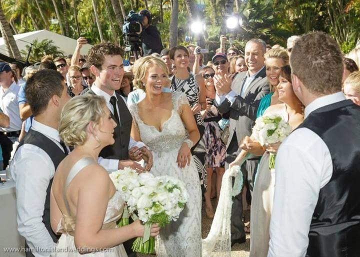 Our Hamilton island wedding
