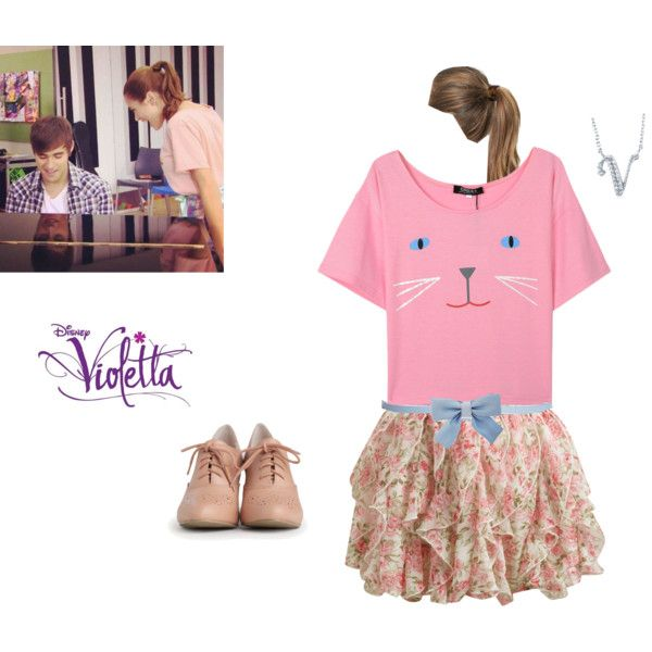 Violetta 1 episode 35 by cubed-debuc on Polyvore featuring mode, Honor, Wet Seal, INDIE HAIR, BERRICLE, Maison Boinet, France Luxe, women's clothing, women's fashion and women
