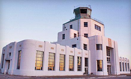 The 1930's Art Deco Air Terminal Museum-Houston TX. @designerwallace