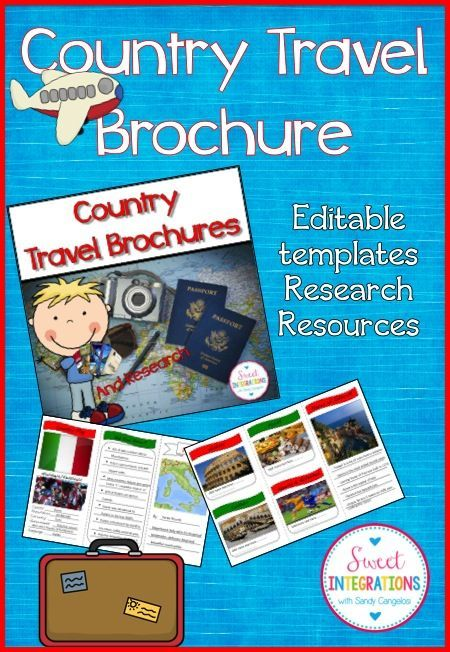 1000 ideas about travel brochure template on pinterest for Country brochure template