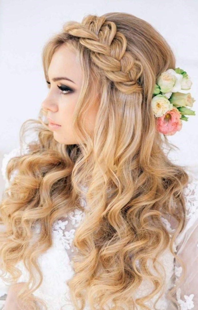 mariage coiffures Coiffure boucle mariage Mariage en