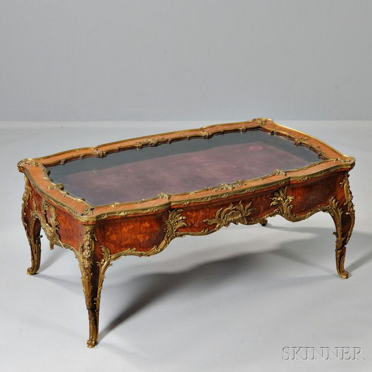 Louis XVI style Ormolu mounted Marquetry Vitrine Table   Sale Number 2940B   Lot1578 best Antiques images on Pinterest   Antique furniture  French  . Louis Xvi Style Furniture For Sale. Home Design Ideas