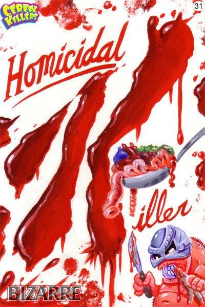 Horror Society: Cereal Killers