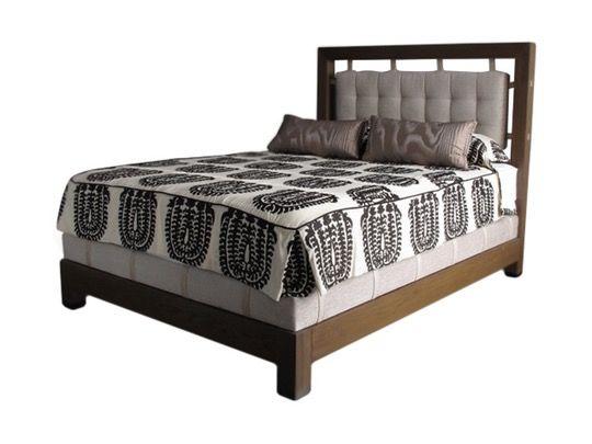 Tilden Bed  MidCentury  Modern, Upholstery  Fabric, Bed by Steven Gambrel