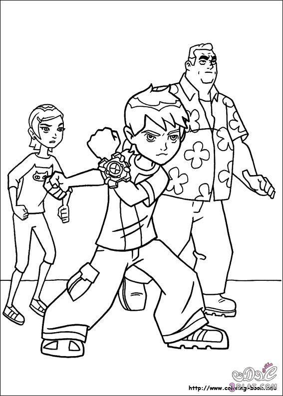 رسومات بن تن للتلوين صور Ben 10 للتلوين رسومات تلوين للاطفال Coloring Books Paw Patrol Coloring Coloring Pages