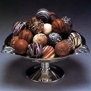 Chocolates bombones
