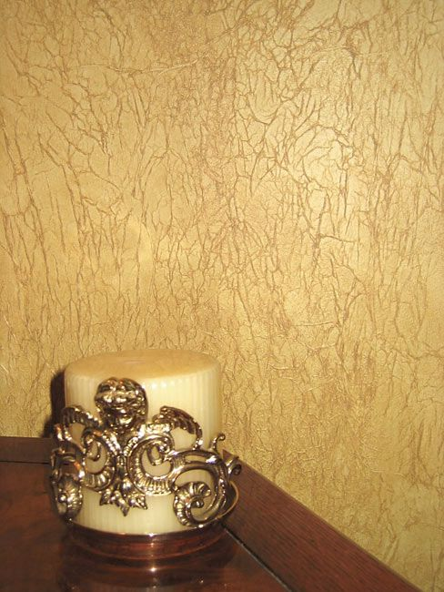 Faux painted tissue papered walls tissue paper walls for Tissue paper faux finish