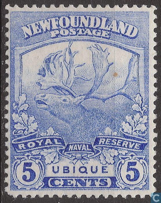 Canada ( Newfoundland) Stamp 1919 - Caribou