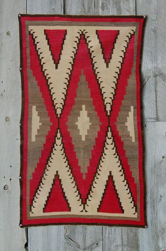 30s Fineweave Klagetoh Navajo Rug Native American Indian Blanket Navaho  Churronr | eBay
