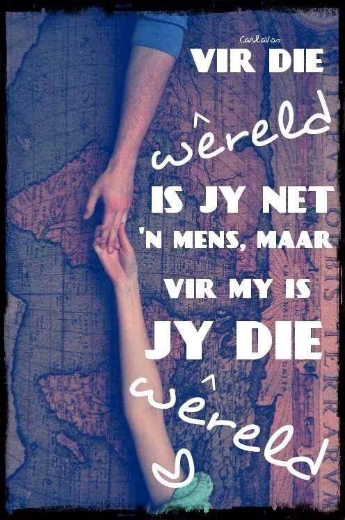 Image result for ek is lief vir jou