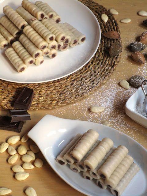 Huesos de santo de chocolate - Sin gluten, sin lactosa y sin huevo