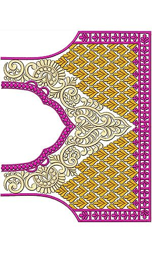 8349 Blouse Embroidery Design