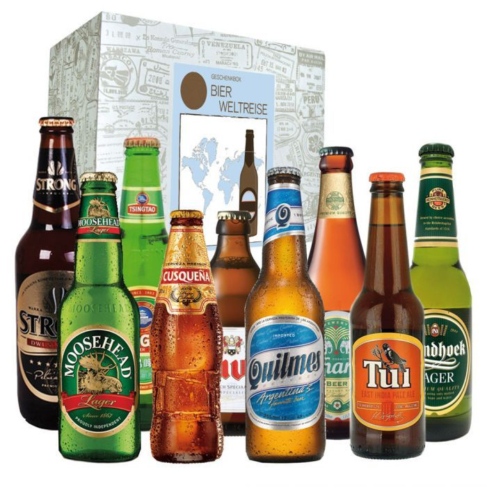 Biere aus aller Welt - Geschenkbox via: www.monsterzeug.de