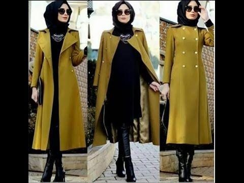 تشكيلة ملابس شتوية روعة للمحجبات   New Winter Collection Hijab Outfits