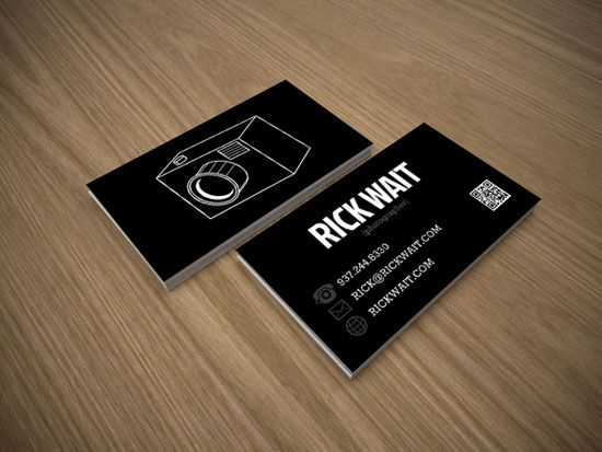 8 best business card designs images on pinterest business card the most creative photographer business cards reheart Choice Image