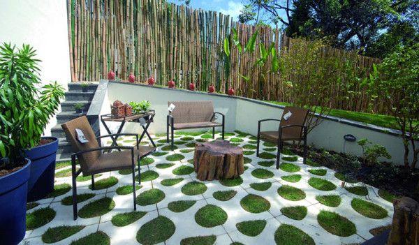 Asymmetrical Paving Tiles by Renata Rubim Photo