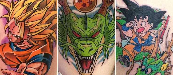 Couverture de l'article Les plus beaux tatouages Dragon Ball