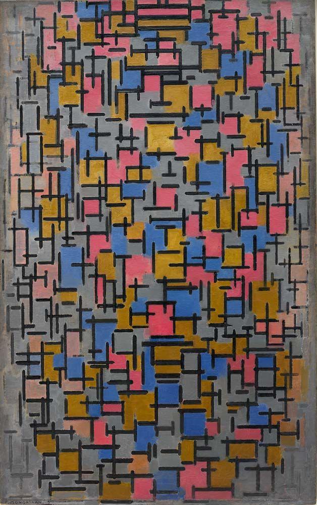 Compositie (Composition), 1916 by Piet Mondrian