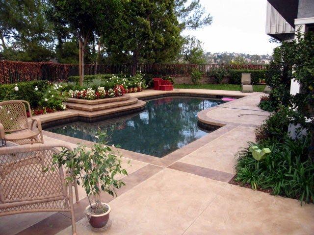 Best 25 Concrete pool ideas on Pinterest Walk in pool Pool