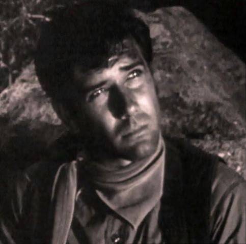 """Robert Fuller is expressive even when still. Here he lives up to his image of """"The King of Cowboy Cool"""". With a little Dean Martin chaser."""