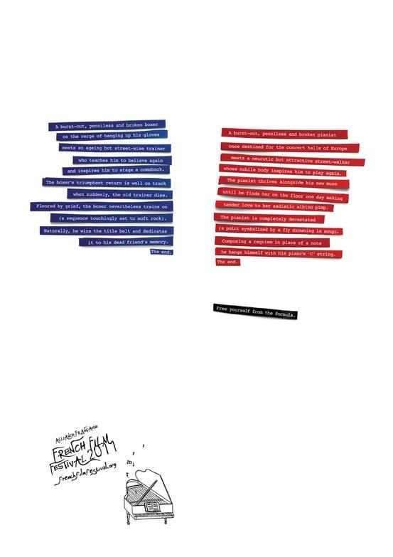 Print campaign/French Film Festival