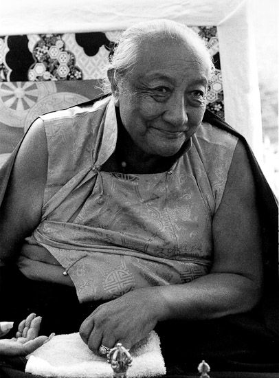 """Overcoming the hatred within ~ Dilgo Khyentse Rinpoche http://justdharma.com/s/w8749  Once you overcome the hatred within your mind, you will discover that in the world outside, there is no longer any such thing as even a single enemy.  – Dilgo Khyentse Rinpoche  from the book """"The Heart of Compassion: The Thirty-seven Verses on the Practice of a Bodhisattva"""" ISBN: 978-1590304570…"""