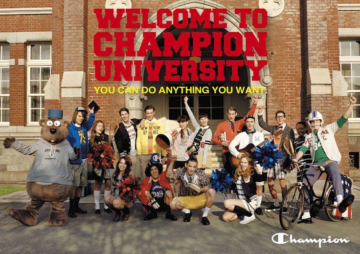 CHAMPION 2012 SPRING & SUMMER #champion #fashion #image #advertisement #direction #design #campaign #print #storepromotiontool #web #ivy #university #dekisugi #concept #copy