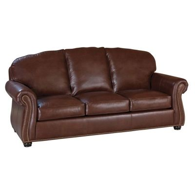 Classic Leather 98-66-3/3-WT Morrison Sofa available at Hickory Park Furniture Galleries