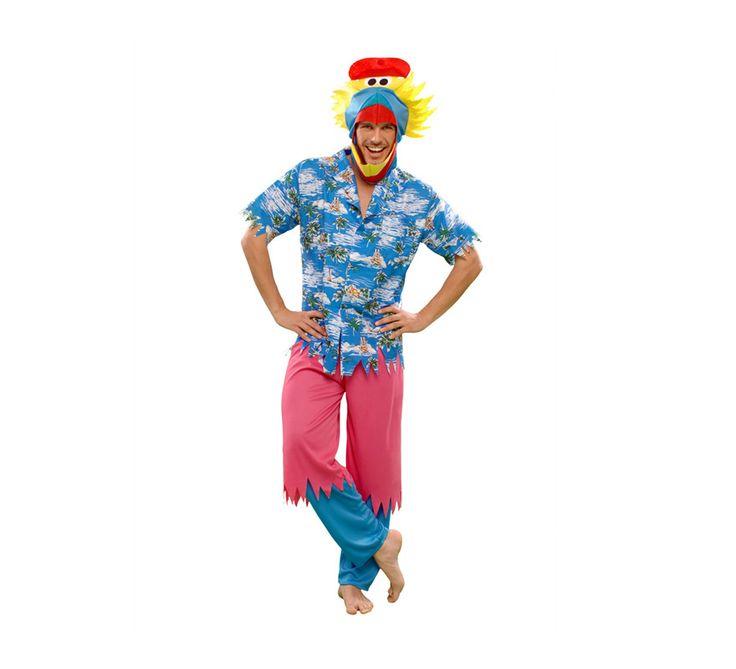 #Disfraz de #Pájaro #Hawaiano para hombre. #fiestahawaiana #hawai #hawaii #verano
