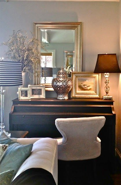 Southern State of Mind: Decorating with a Piano + Korg Pianos