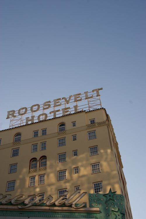 17 Best Images About ♥ HOLLYWOOD ROOSEVELT HOTEL On