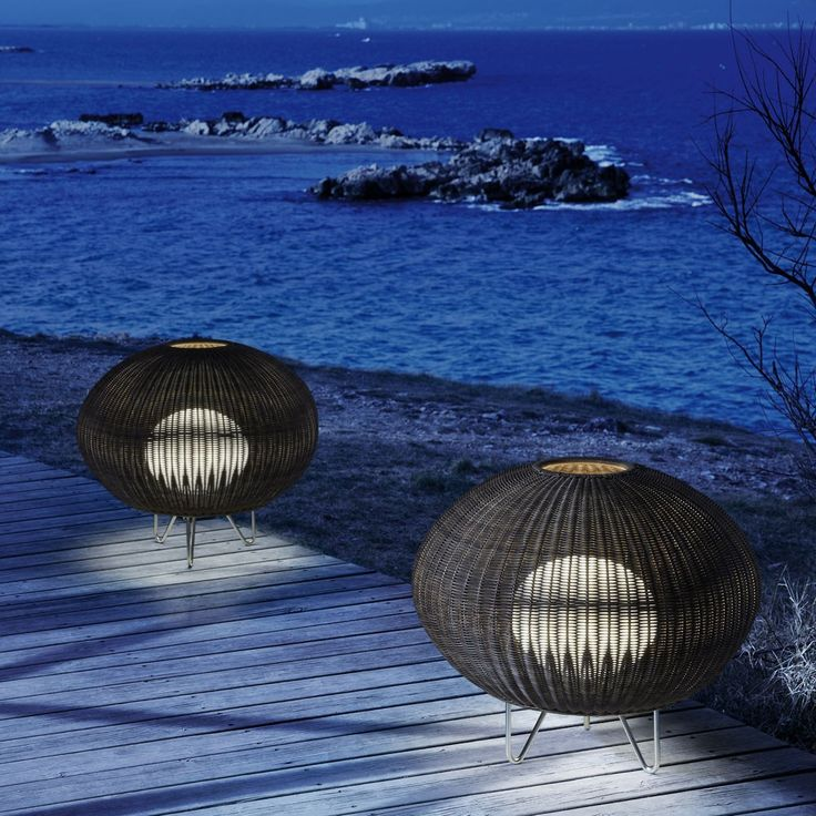 The Garota 01 Outdoor Floor Lamp is a homage to the sea urchins of the Mediterranean. http://www.ylighting.com/bover-garota-01-outdoor-floor-lamp.html #YinTheWild