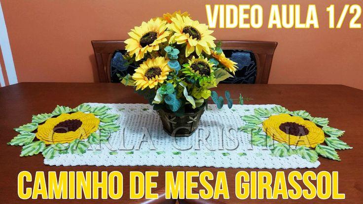 Caminho de Mesa Girassol: VideoAula 1/2
