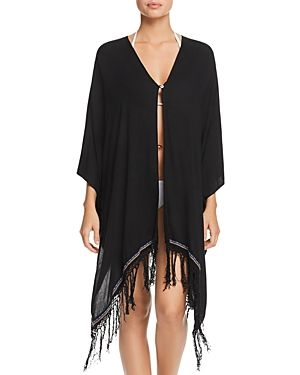 PITUSA BALI FRINGE KIMONO SWIM COVER-UP. #pitusa #cloth #