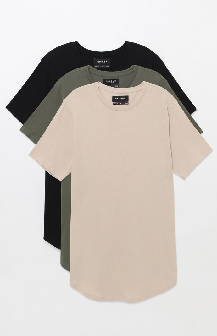 418d28a35 PS Basics Three Pack Scallop T-Shirts in 2019 | casual outfits ...