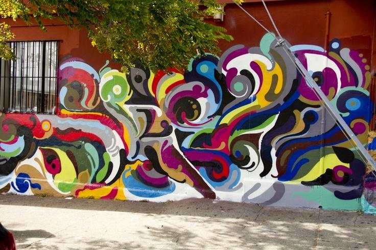Insas Latest HandPainted StopMotion Mural Paris France - Awesome mechanical shark mural phlegm