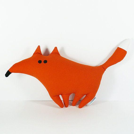Hubert the fox plush