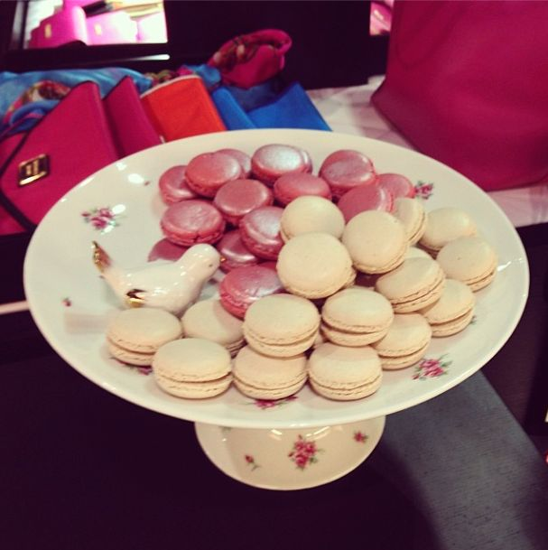 Munch Bakery macarons and Shopping... How can you go wrong?  Another look at the Victoria's Secret event. Post is on www.dressed-to-death.com xx Dressed to Death xx #blogger #pink #ShabbyChic #dessert #photography #style http://instagram.com/p/oLcOw5H-jD/